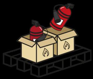 Shipping Fire Extinguishers Internationally